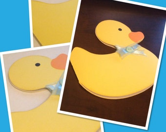 Duck (Rubber Duck) Personalized Invitation