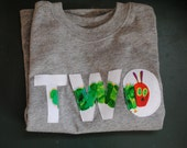 2nd Birthday Very Hungry Caterpillar Short-Sleeved Shirt-Two