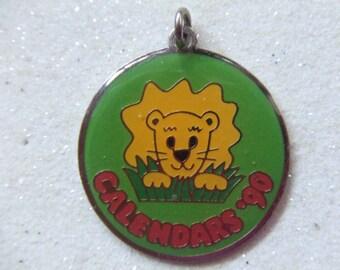 Vintage Girl Scout Award Pendant-Calendars '90