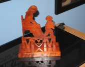 Mom and Child Tabletop Wood Sign