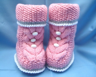 Baby Shoes Baby Girl Booties Knitted Baby Shoes Knitted Baby Booties Crochet Shoes Baby Girl Crochet Newborn Shoes Infant Booty
