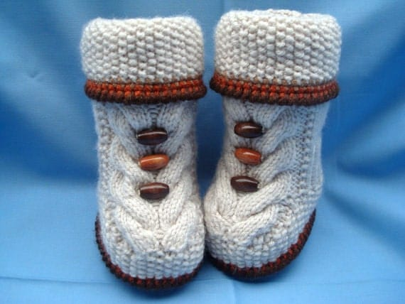 Epipa Knitting Pattern Baby Booties : Unavailable Listing on Etsy