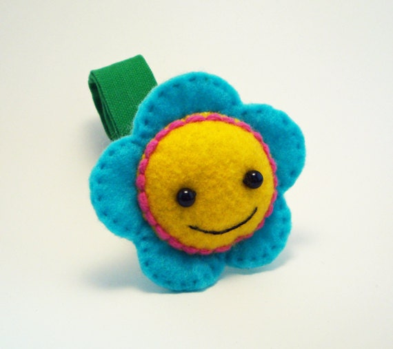 Baby Stroller and Car Seat Toy - Flower Baby Toy for Baby Car Seats or Strollers