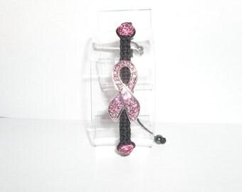 BREAST CANCER SHAMBALLA Bracelet