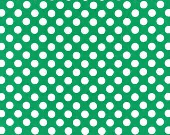 1/2 Yard Michael Miller Ta Dot in Emerald