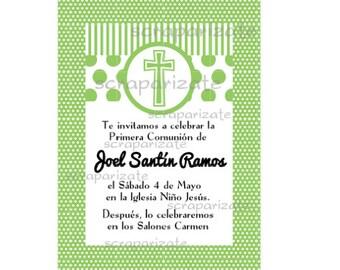 Communion/baptism invitation
