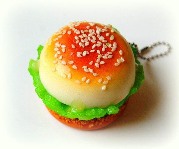 Squishy Burger Mirror : Burger squishy mirror by wecanbekittens on Etsy