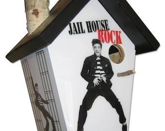 Elvis Presley Birdhouse