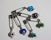 Evil Eye Pin / Martyrika for Babies / Infants / Children