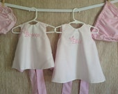 Reversible Baby/Infant Pinafore Dress with matching bloomers (3m-3t) CHOOSE YOUR FABRIC