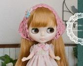 Mori Girl Pink Floral  Dress Set for Blythe/ Blythe Outfit