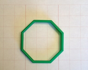 "3.5""  Octagon Cookie Cutter"