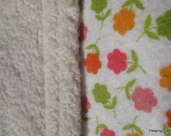 The Joys of Spring - Organic Cotton Sherpa Blanket