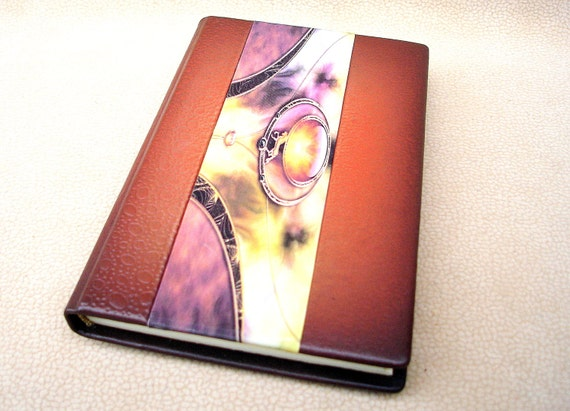 Brown Leather Journal, Notebook, Blank Book
