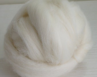 Felting Wool - Finnish wool top - 100g Needle felting spinning