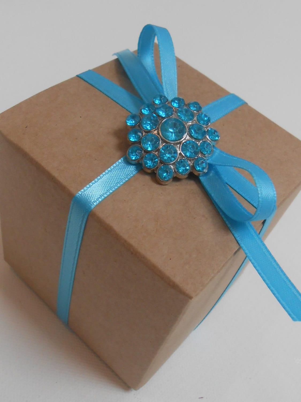 Black Treat Favor Boxes : Brown kraft favor box treat wedding