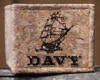 Personalized Handmade Cork Wallet