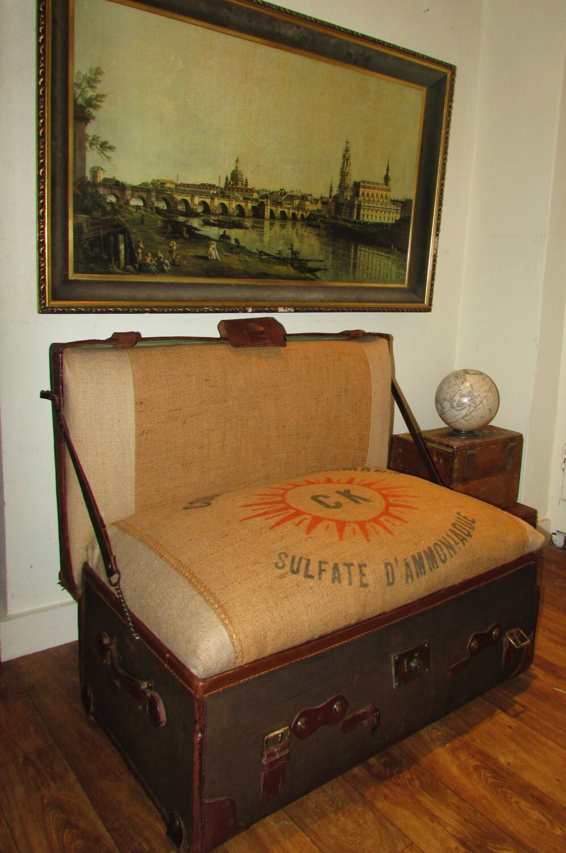 Vintage Wooden Bed Frame