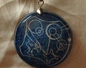 "Doctor Who Gallifreyen Pendant ""Trust Me, I'm The Doctor."""