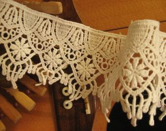cotton Lace Trim, white cotton lace, trim lace