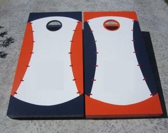 Custom Cornhole Boards / Baseball design