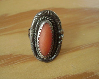 vintage southwest sterling ring size 4 and 1/2