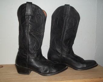 SALE!!!  Black Stetson Boots Mens