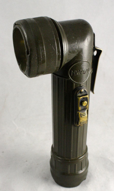Vintage Military Flashlight Made By Usalite Marked Mx99i U