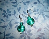 Teal Faves Earrings