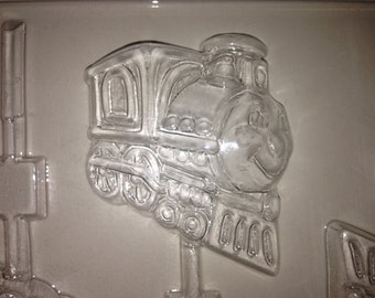K73 Chocolate Lollipop Mold - Smiling Trains