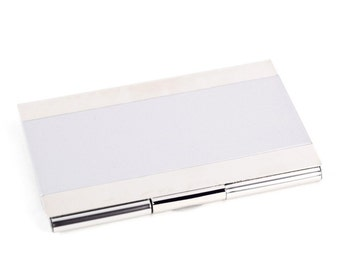 Personalized Quality Business Card Holder - Free Engraving - D269S