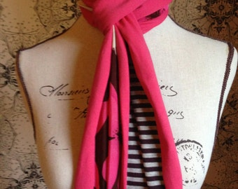 "Ladies Multi-Colour Scarf. This Design is Called the ""Feliz"""
