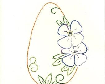 Easter Flower egg 6