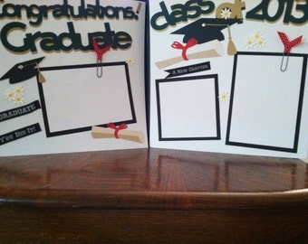 Senior Year Graduation Pre Made 12 x 12 Double Page Layout