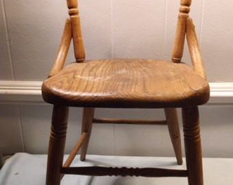Vintage, Antique,  Heywood Wakefield, Wood, Children's, Chair, Furniture, School House, Chair 3
