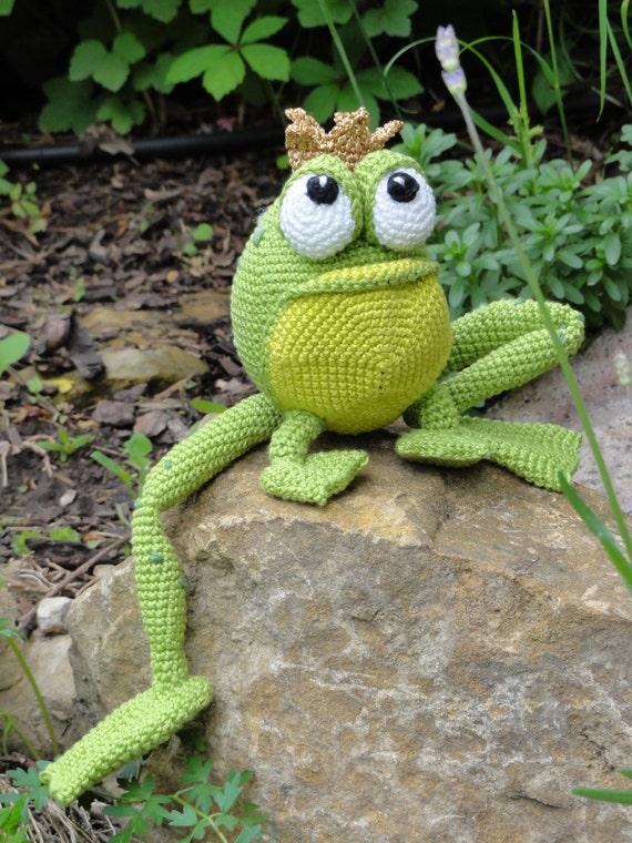 Amigurumi Crochet Pattern Henri Le Frog From Ildikko On