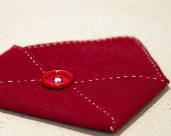 Felt Envelope - Gift Envelope - Love Letter Envelope - Card Envelope - Gift Card Envelope - 5x7