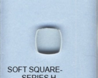 BulletProof Silhouette Press Dies Individual Soft Square Shape H