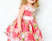 SALE...Buy 2 get 1 free...Instant Download PDF Sewing Pattern Ruby Sue Round Neck Retro Style Dress, 6-12m to 12