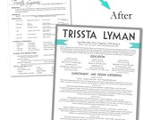 Reserved for Jessica: Custom Resume Package