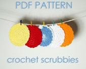 Scrubbie Crochet Pattern for Toddlers and Kids