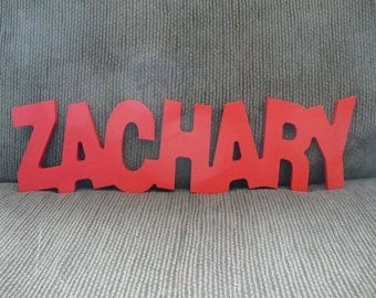 Personalized Baby Wall Names.  Custom Nursery Wooden Wall Decor.  Baby Name Sign