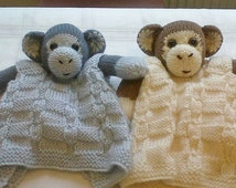 Monkey Buddy Comfort Blanket