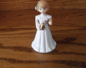 Ensco Growing Up Girl Figurine Age Six