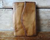 Vintage Cowhide Key Wallet Made By St Thomas