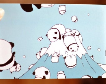 Lovely Panda Postcard - 3 Cards
