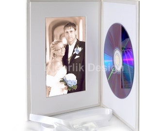 Wedding CD and Photo Box Laura