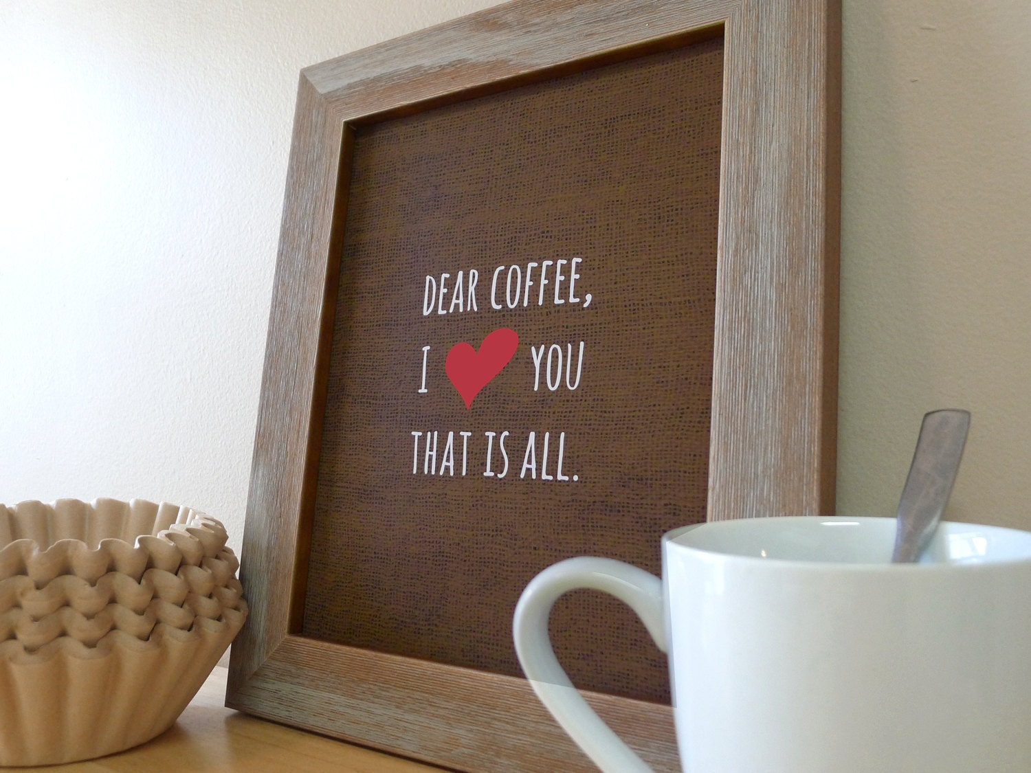 coffee sign kitchen wall art coffee prints coffee love. Black Bedroom Furniture Sets. Home Design Ideas
