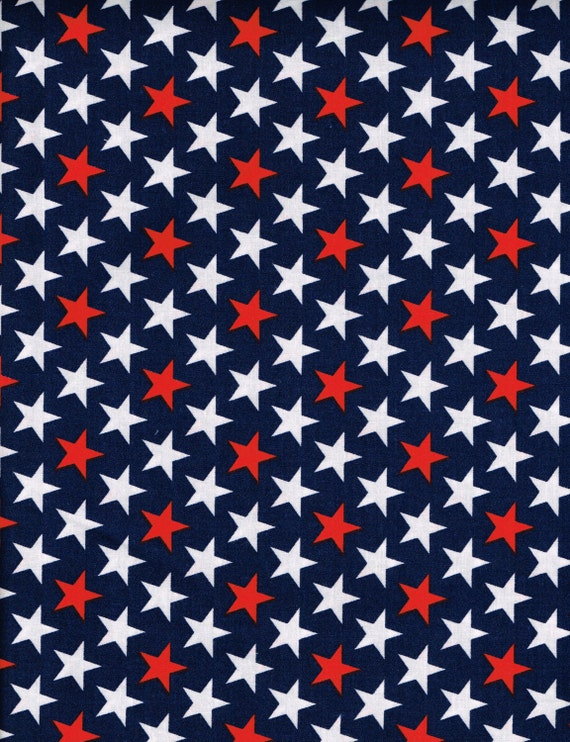 Quilt Quilting Fabric 4th Of July Patriotic By