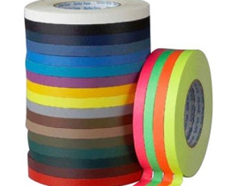 """135 ft. roll of 1/2"""" Gaffers Hula Hoop Grip Tape - All Colors and Neons to Choose From!"""